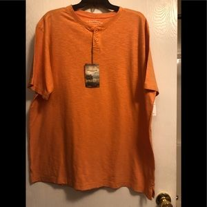 New orange short sleeve shirt by Clearwater